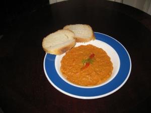 spiced capsicum dip